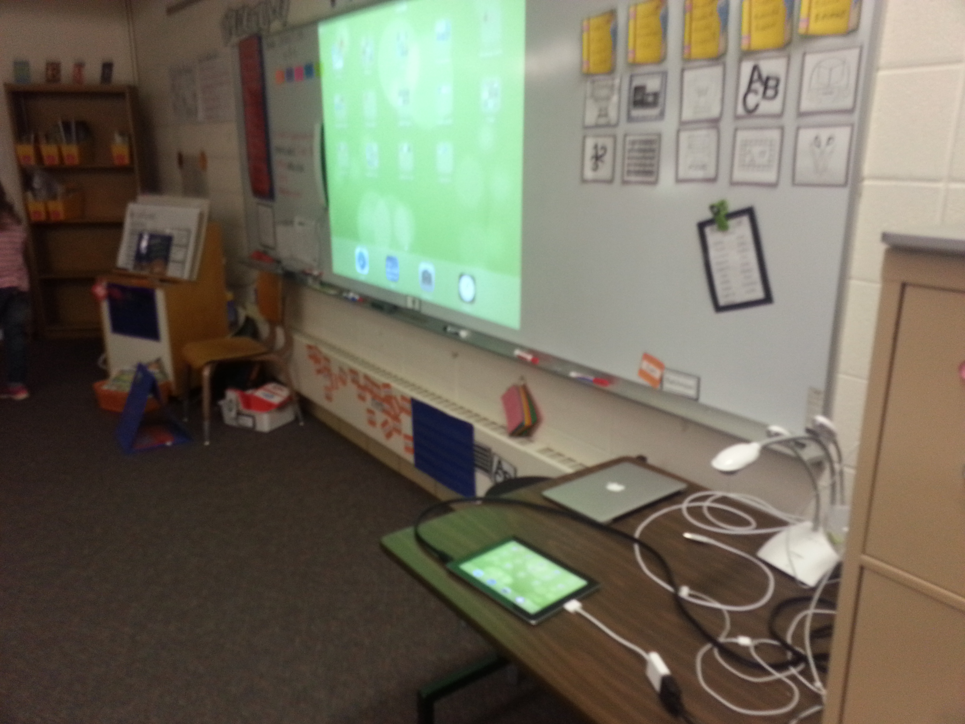 Technology In Elementary Classrooms : Classroom technology observation adel elementary nd grade