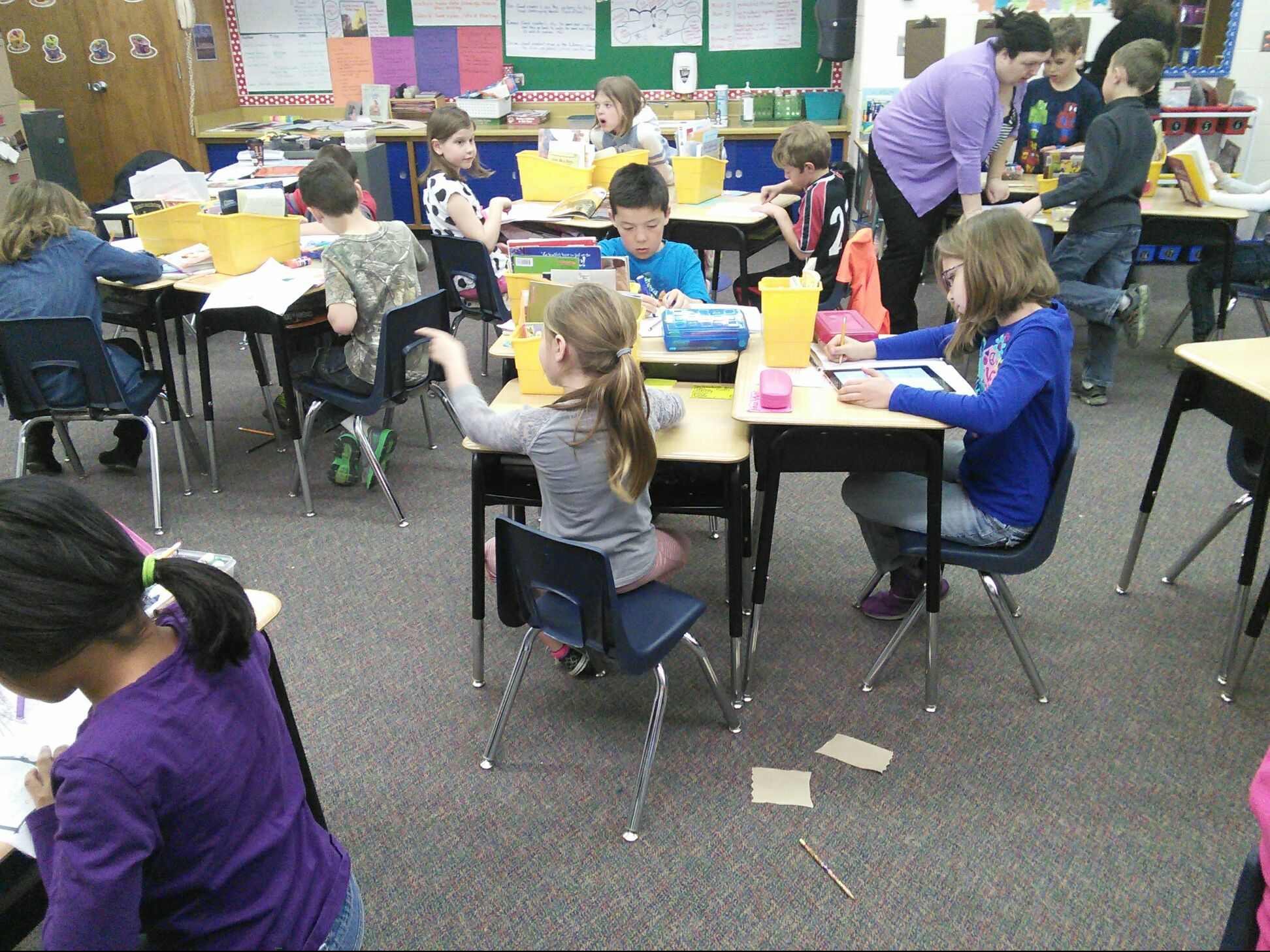 Elementary Classrooms Technology Use : Adel elementary classroom visits april th adm