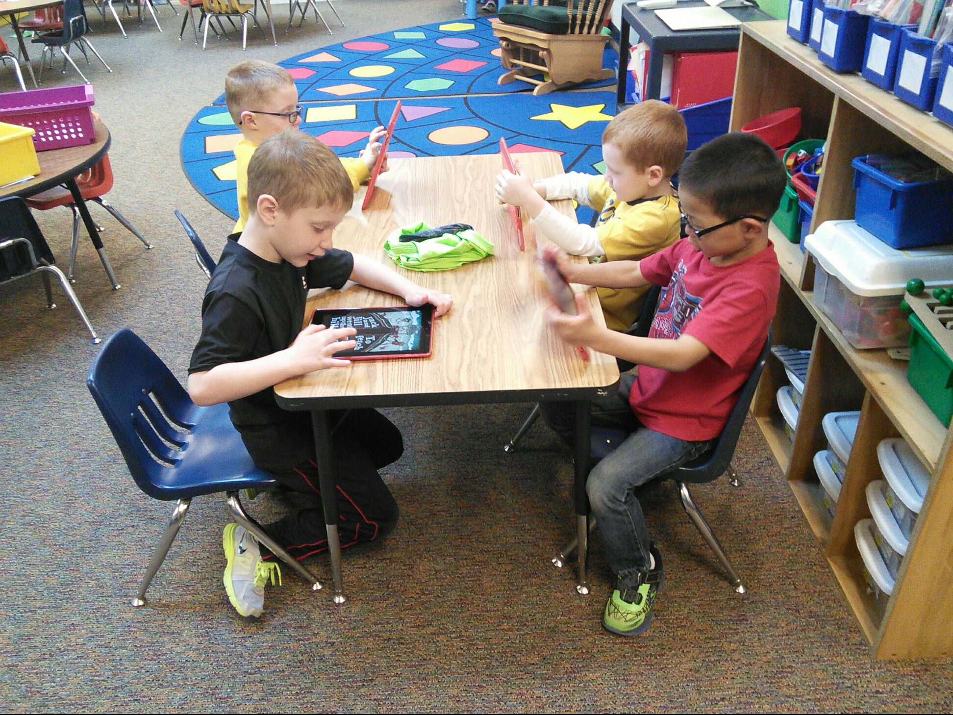 Technology In Elementary Classrooms : Adel elementary classroom visits april th adm